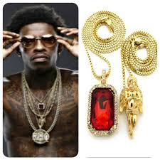 details about mens iced out micro ruby praying angel pendant gold chain necklace hiphop sq