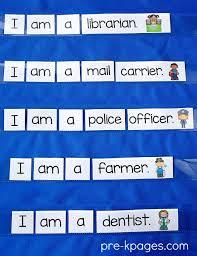 Community Helpers Chart Community Helpers Preschool Literacy Activities