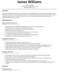 Hair Stylist Resume Sample Resumelift Com Image 5a134610 Sevte