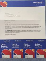 Southwest Drink Coupons How To Get Them Free