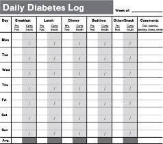 Diabetes Chart Tracker Pin On Log Book