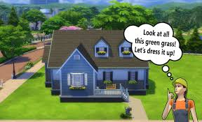 Small Picture Building for Beginners in The Sims 4 Landscaping