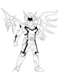 Power Ranger Samurai Coloring Pages Power Ranger Coloring Pages To