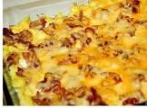 bacon and egg lasagne