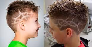 Módní účesy Pro Dospívající Chlapce Dětské účesy Pro Chlapce Od