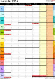 free year calendar 2015 calendar 2015 uk 16 free printable word templates yearly template by