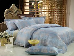 percale blue and grey bedding sets