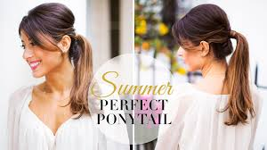 Luxy Hair Style summer perfect ponytail youtube 6881 by wearticles.com