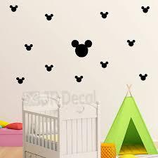 disney wall sticker set of mickey