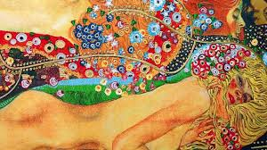 Bisce d'acqua (fidanzate) - Klimt - MATERICA - Riproduzioni quadri - YouTube