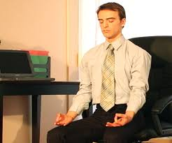 office meditation. research by uw information school professors suggests that meditation training can help people working with office