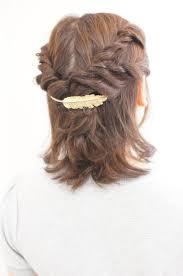 2018年最新結婚式の髪型ミディアムヘアお呼ばれヘアスタイル厳選30