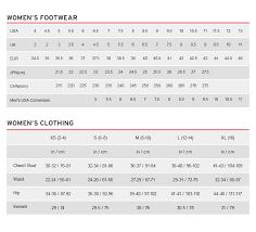 Kids Size Chart Australia Size Chart