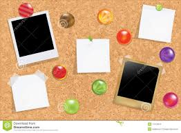 Cork Bulletin Board Cork Bulletin Board Vector Stock Photos Image 17410913