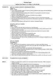 Retail Cashier Resume Yyjiazhengcom Resume