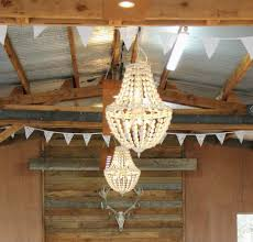 beaded chandelier major and minor wedding and party hire wanaka