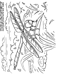 Small Picture Dragonfly coloring page Animals Town Free Dragonfly color sheet