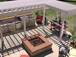 Italian Outdoor Kitchen Garden Design Garden Design With Pergola Outdoor Kitchen Plans