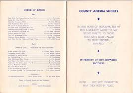 Link to the full photograph: Antrim dance program, 1951. AIA NYU/Anthony. Antrim dance program, 1951. AIA NYU/Anthony Creaney. - 07Q-Antrim-dance-programL