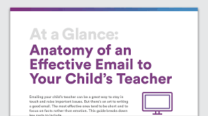 Well Child Exam Templates Emailing Teachers About Your Child Anatomy Of An Effective Email