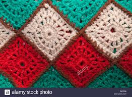 crochet, hand made, wool, blanket, squares, abstract,multi Stock ... & crochet, hand made, wool, blanket, squares, abstract,multi  coloured,handicrafts Adamdwight.com