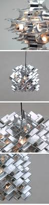 modern lighting concepts. Max Sauze, Cassiope, Aluminum, Hanging, Ligth, 1970 Modern Lighting Concepts