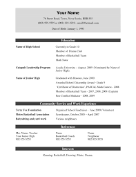 Gallery Of Jobstreet Resume Download Free Resume Templates