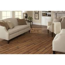 Shop allen  roth Burnished Autumn Maple Picking up our flooring TONIGHT