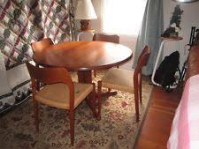 j l moller model teak dining chair danish modern table chairs