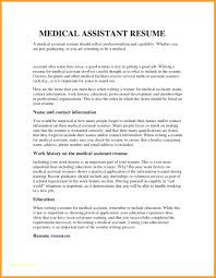 Resume Entry Level Medical Assistant Resume Samples