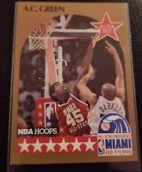 The set was distributed in two series of 336 and 104 cards, respectively. 1990 Hoops All Star West Ac Green 17 Lakers Ebay