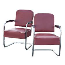 art deco outdoor furniture. pair of art deco royal chrome by lloyd lounge chairs 1 outdoor furniture
