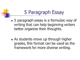 paragraph essay introduction body paragraph body paragraph  5 paragraph essay 5 paragraph essay is a formulaic way of writing that can help beginning