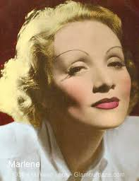 marlene trich 1930s makeup look