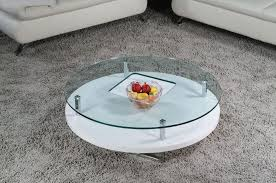 round glass coffee table modern table designs
