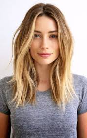 Coupe De Cheveux Long Blonde Femme