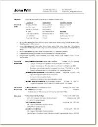 sample computer programmer resume visual basic programmer resume easy entry level software engineer
