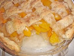 southern peach cobbler with pie crust. Old Fashioned Homemade Peach Cobbler For Southern With Pie Crust