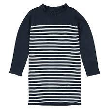 <b>Платье La Redoute Прямое с</b> длинными рукавами в полоску 3-12 ...
