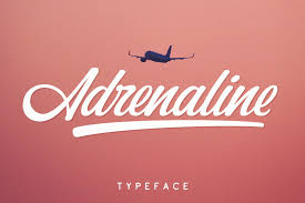 Half of all single people use online. Adrenaline Font By Pasha Larin Creative Fabrica Free Script Fonts Fonts Create Font