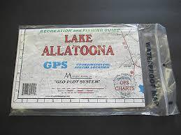 Atlantic Map Lake Jordan Alabama Geographic Gps Charts