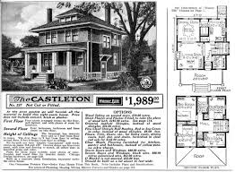 american foursquare house plans   Sears FourSquare  The    american foursquare house plans   Sears FourSquare  The Clarissa or P   My home   Pinterest   Foursquare House  House plans and House