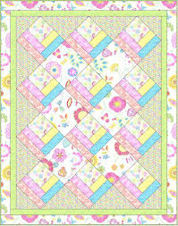 Baby Quilts Free Patterns Beginners Quick And Easy Baby Quilt Kits ... & Baby Quilts Free Patterns Beginners Quick And Easy Baby Quilt Kits Download Free  Pattern Happy Day Adamdwight.com