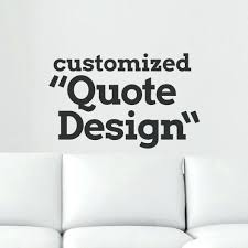 personalized wall art quotes