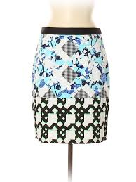Details About Peter Pilotto For Target Women Blue Casual Skirt 8