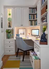 decorating a small office space. 20 Home Office Designs For Small Spaces Decorating A Space Pinterest