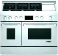 double oven gas range. 36 Inch Double Oven Range Gas Stove With T