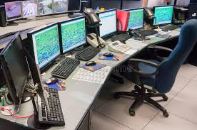 Контрольный центр контроля над трафиком Редакционное Стоковое   Контрольный центр контроля над трафиком Редакционное Стоковое Изображение изображение 34511744