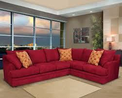 Maroon Living Room Furniture Astounding Red Upholstery Leather Modular Sectional Sofa Living
