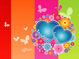 3d colorful heart wallpapers. Plain Colorful Love Heart Wallpapers Inside 3d Colorful A